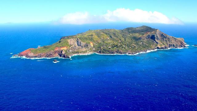 Fotografía de la isla Pitcairn