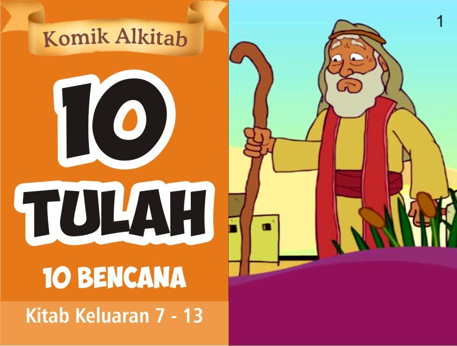 Komik Alkitab Anak 10 Tulah