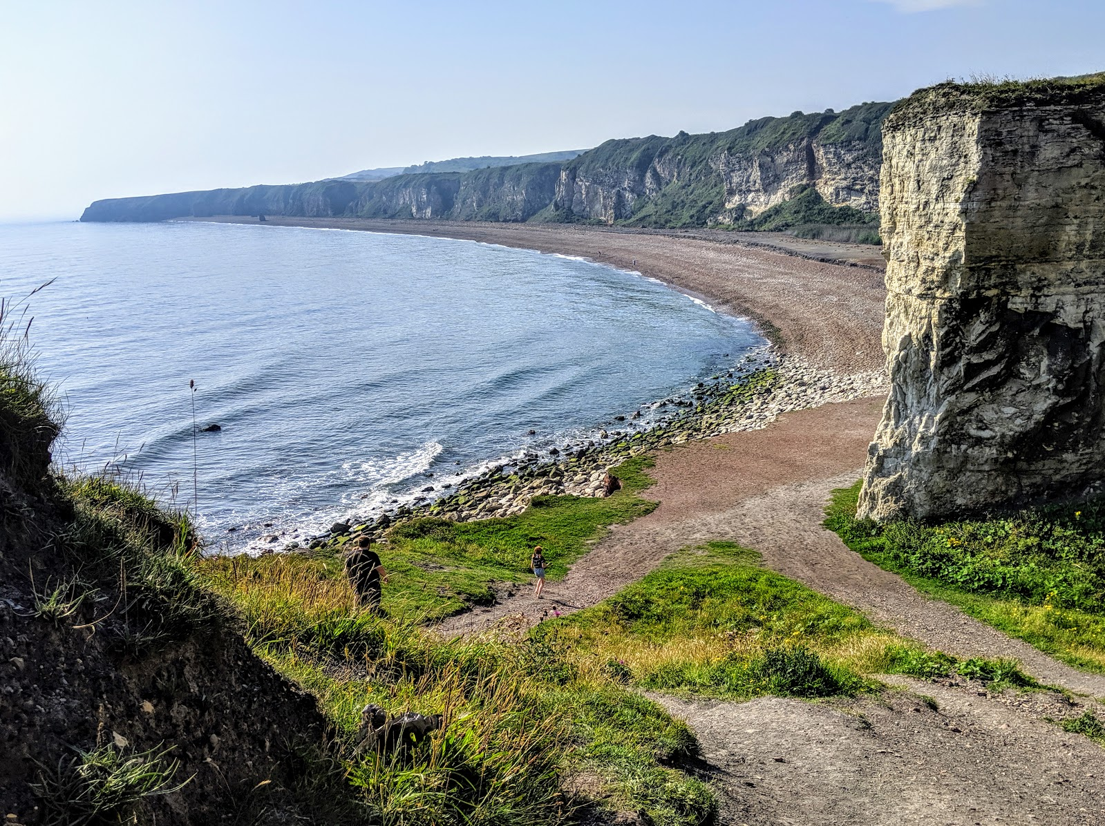 A Weekend Exploring Seaham Beach & Durham's Heritage Coast - Blast Beach path to beach