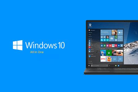 تحميل Windows 10 AIO الأصلي للنواتين 32 و 64 بت