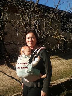 porte-bébé préformé dossier portage dossier ceinture bassin soutien base