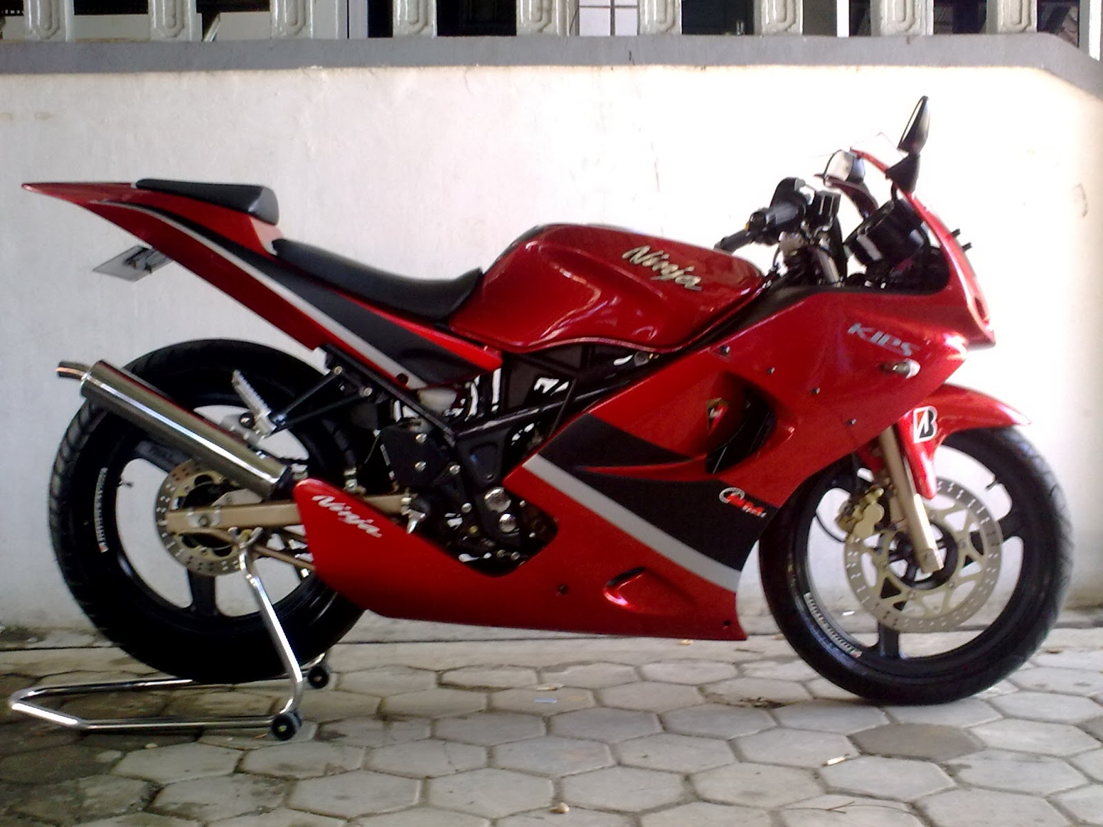 12 Foto Modifikasi Motor Ninja 250 CC Part 2