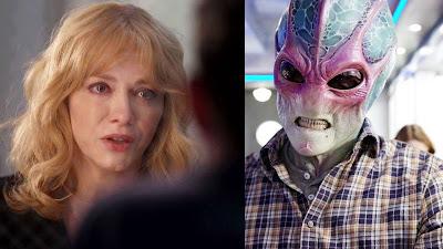 """Resident Alien 1x09  """"Welcome Aliens"""" - Good Girls 4x03  """"Fall Guy"""""""