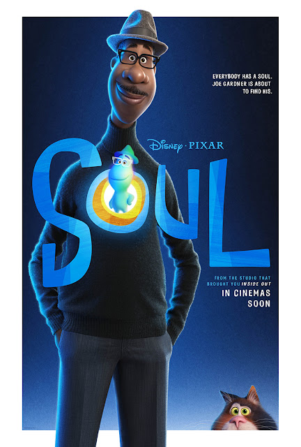 @Disney Launches @PixarSoul Poster and #Movie Trailer #PixarSoul