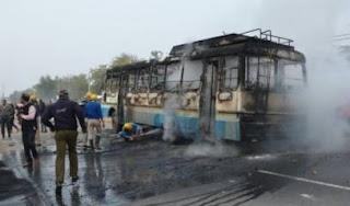 karni-sena-denies-stone-pelting-on-school-bus