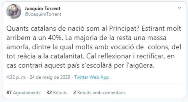 Juaquinico el torrentillo, Joaquim Torrent