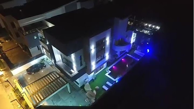 This mansion is owned by renowned comedian, AY Makun