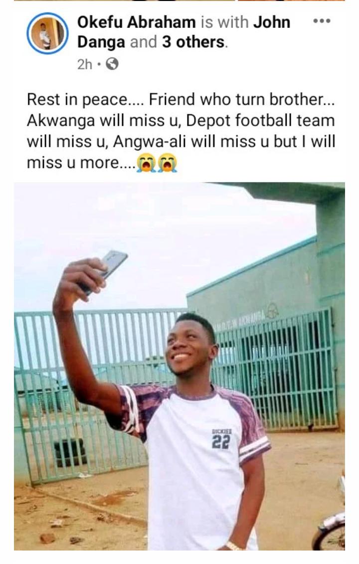 Breaking: A Nigeria footballer is dead