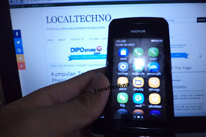 Cara Flash Nokia Ahsa 305 Rm-766 Dijamin Work 100% By Localtechno