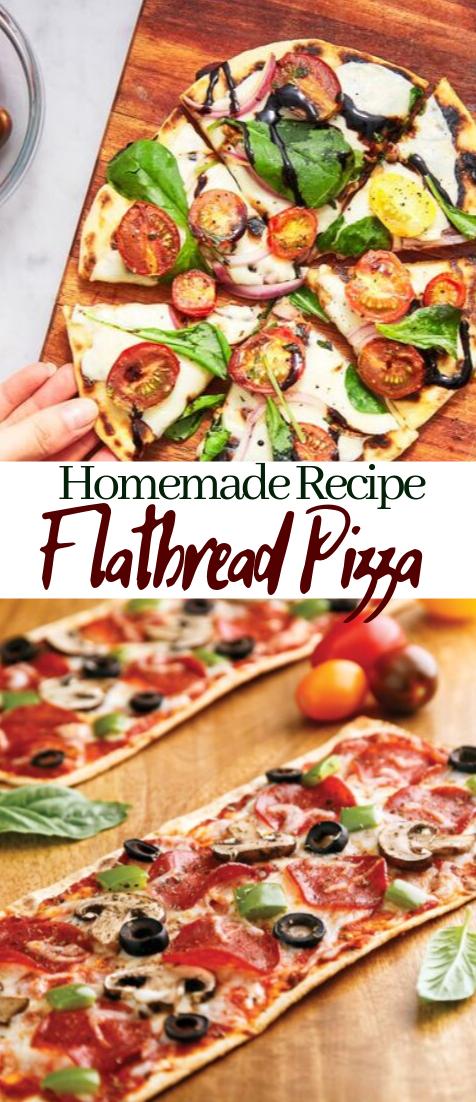 Flatbread Pizza #healthyfood #dietketo #breakfast #food