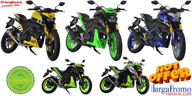 Harga Cash dan Kredit Modifikasi Yamaha Xabre Custom