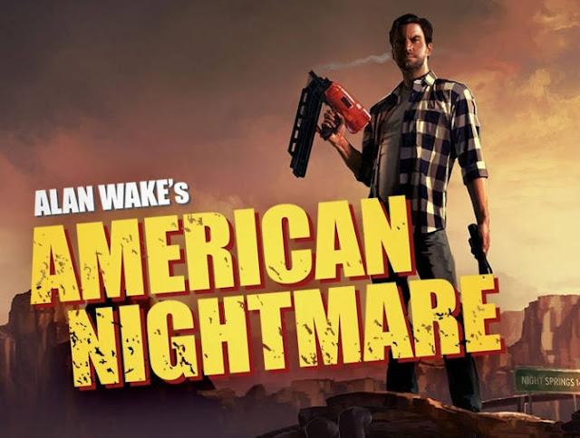 Alan Wake's American Nightmare locandina