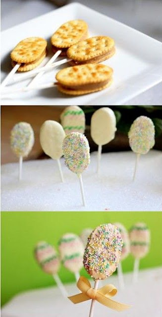 Modelos de bolos e doces para Páscoa