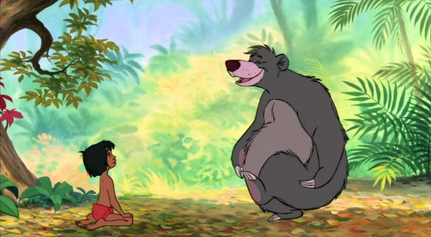 story Jungle book