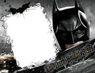 Marco para fotos inspirado en Batman