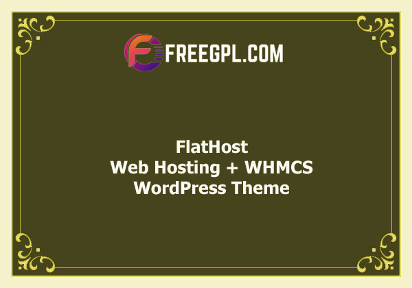 FlatHost WordPress Hosting Theme + WHMCS v2.4 Free Download