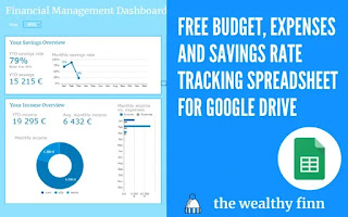 free budget and expenses tracker for google sheets
