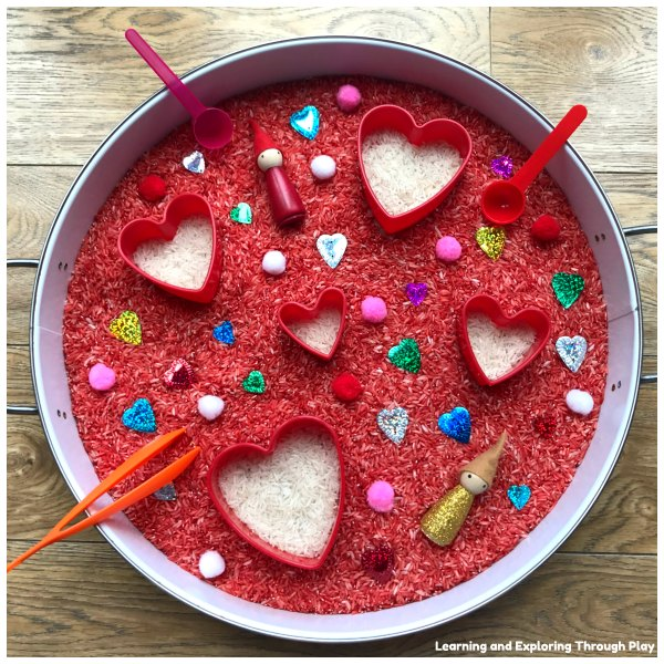 Valentines Ideas for Early Years and Preschoolers
