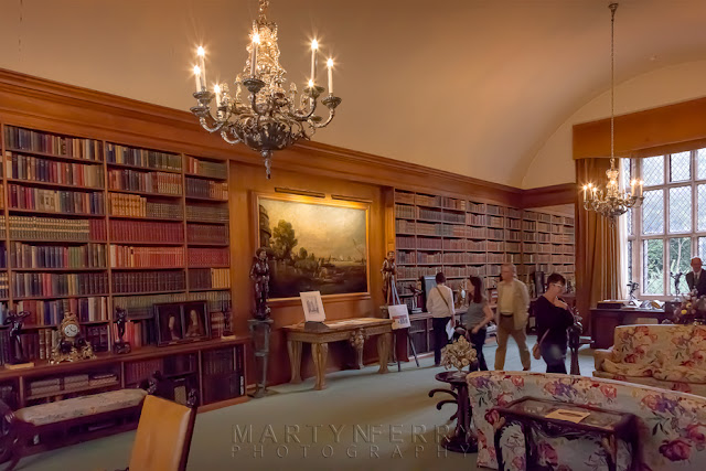 Anglesey Abbey Library room interior