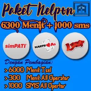 Hai AkhirMali.com, Saya berminat membeli PAKET NELPON [SNL100]: 300 Menit All Operator+ 6000 Menit ke Sesama Telkomsel+1000 SMS All Operator. Ini Datanya: Nama: Kota: Nomor HP: