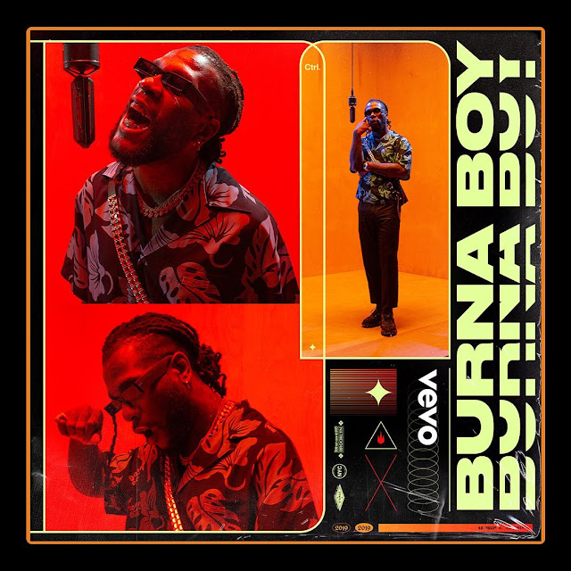 Burna Boy Performs 'Anybody' & 'Collateral Damage' Live on Vevo - Watch it Here!