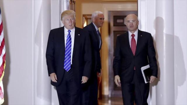Trump elige al secretario de Trabajo y jefe ambiental de EEUU