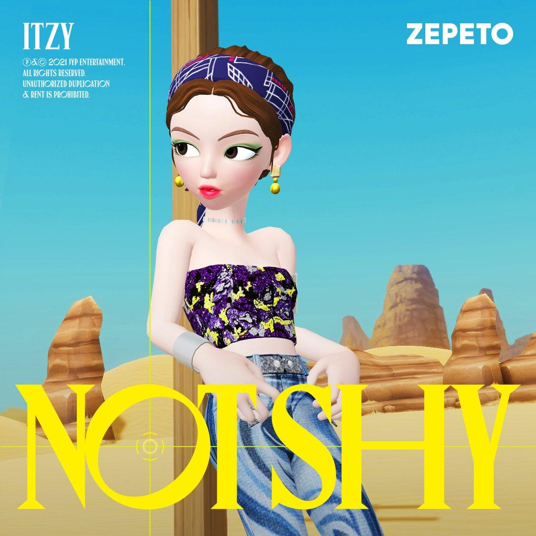 itzy zepetos not shy lia