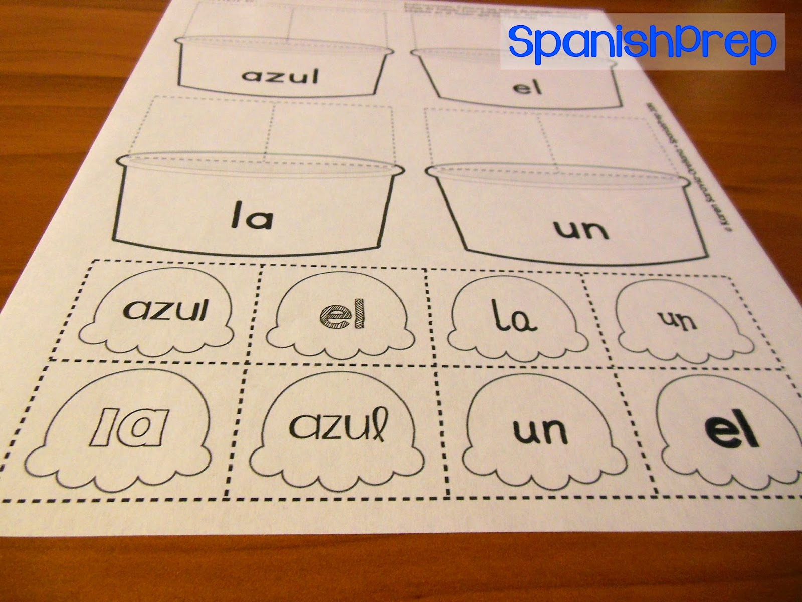 Spanishprep Blog I Scream For Ice Cream Sight Words
