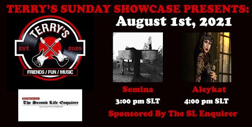 Terry's Place Sunday Showcase