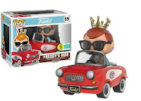 Pop! Rides: Freddy Funko in Red Buggy (500pc LE).