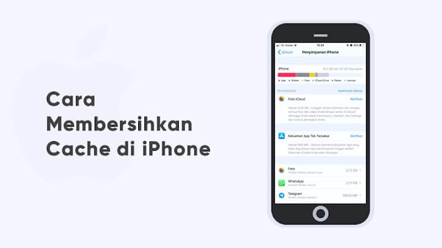 cara membersihkan cache di iphone