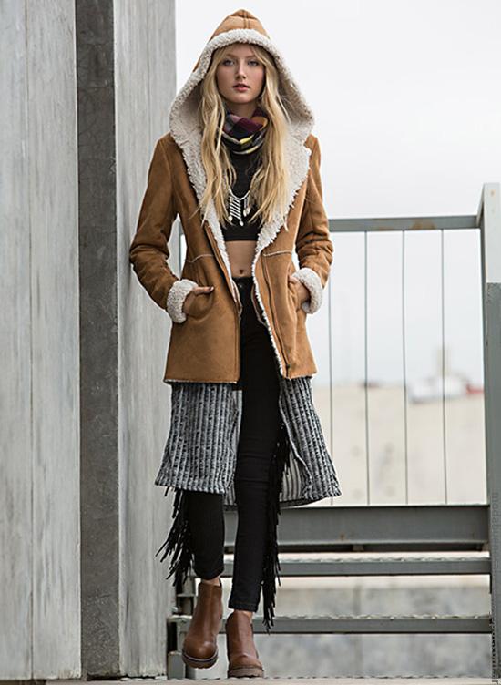 Ropa de moda invierno 2016 moda mujer Falabella.