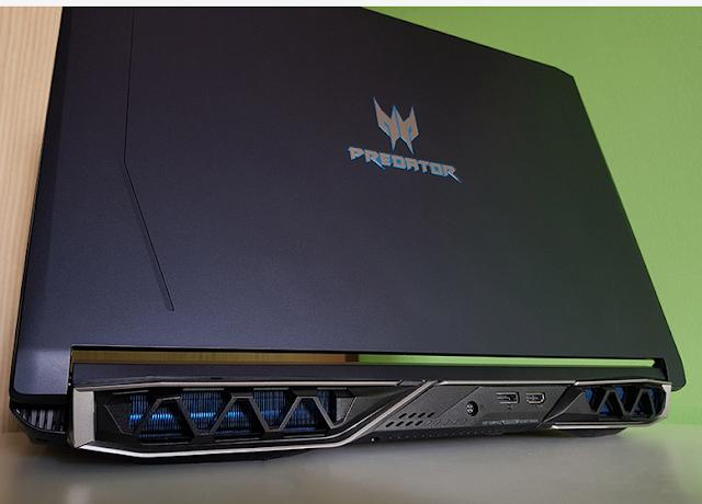 Acer Predator helios 500 Design