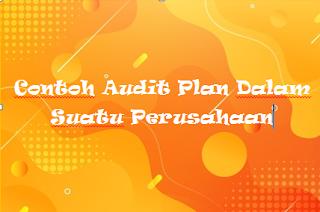 Contoh Audit Plan Dalam Suatu Perusahaan