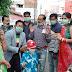 फ्रैन्ड्स ग्रुप ट्रस्ट' जौनपुर द्वारा कोरोना वायरस जागरूकता कार्यक्रम के तहत मास्क वितरित किया गया