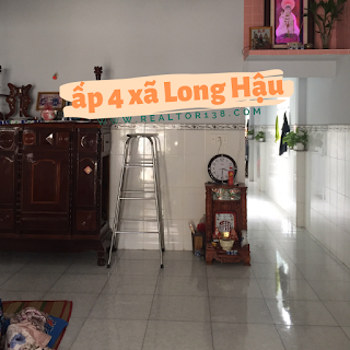 bán nhà ấp 4 xã long hậu huyện cần giuộc