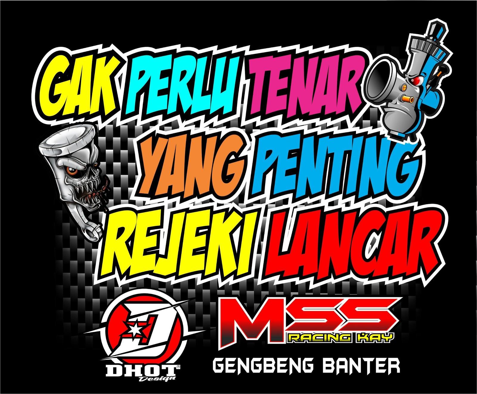 Kata Kata Racing 2 Gila Balap Motor