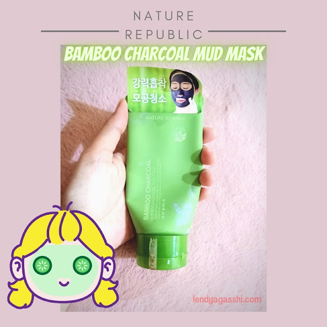 Review Nature Republic : Bamboo Charcoal Mud Mask