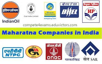Maharatna Companies in India  (#India)(#economy)(#General Awareness)(#compete4exams)(#eduvictors)