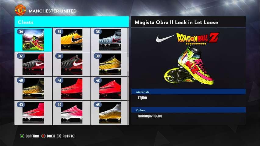 Viscoso Dar derechos conciencia  Nike Mercurial Dragon Ball Z Boot - PES 2017 - PATCH PES | New ...