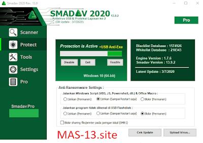 Download Smadav Pro 13.9 Final Terbaru Full Keygen Serial Number