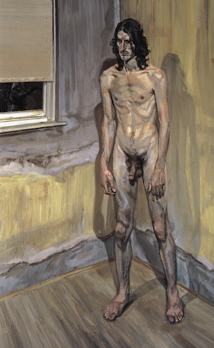 Remarkable, very Lucian freud naked portrait agree
