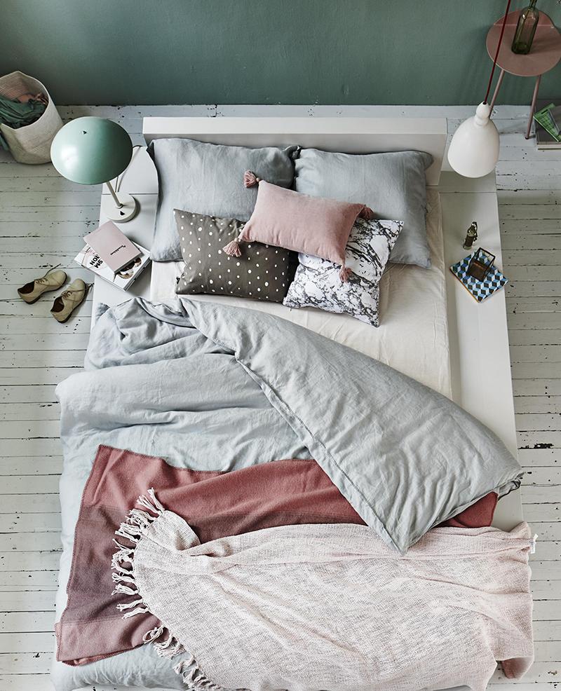 Decorar en familia:El placer de estar en la cama ¡Un ratito más por favor!1