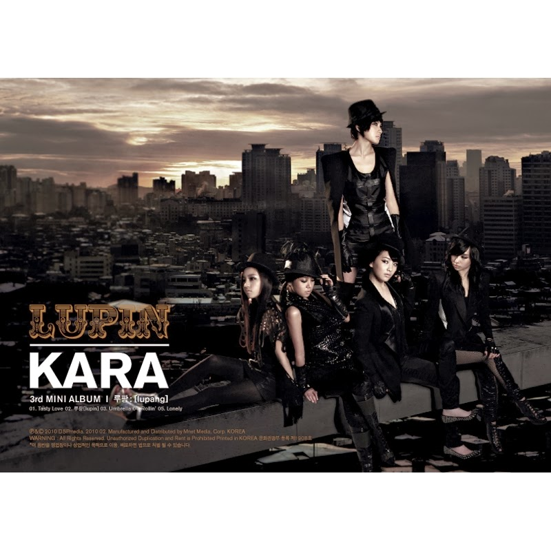 [EP] KARA – Lupin (FLAC)