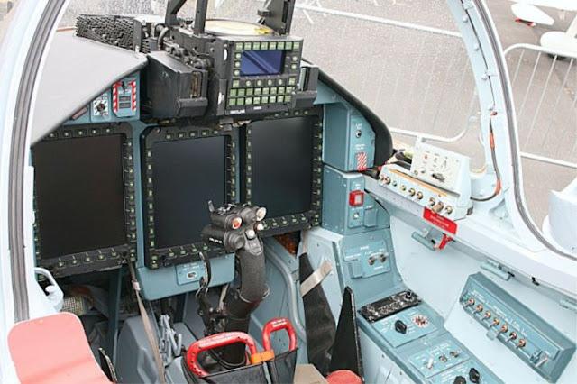 Yakovlev Yak-130 Cockpit