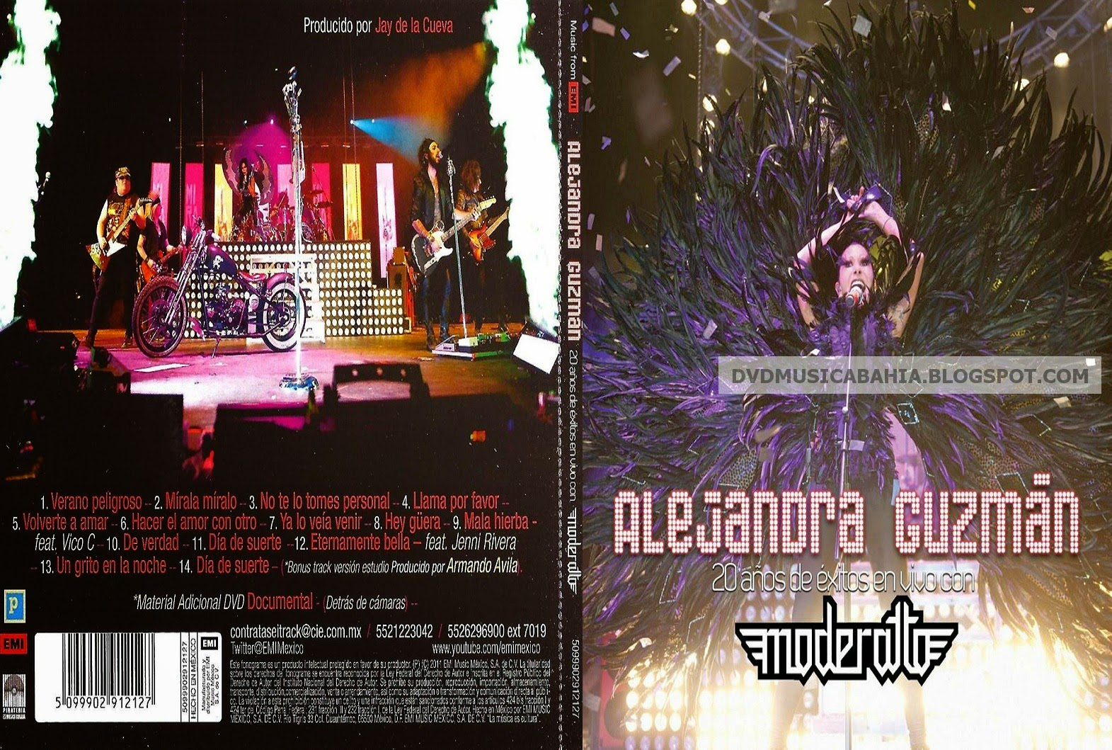 gratis dvd alejandra guzman y moderatto