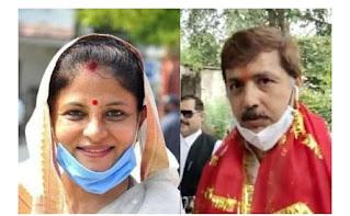 बाहुबली पूर्व सांसद की पत्नी श्रीकला रेड्डी बनी महाप्रधान, बेचैनी विरोधियों में | #NayaSaberaNetwork