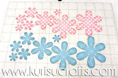 Tutorial flores de papel Kurisu Crafts, paso 2