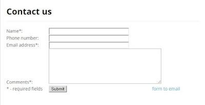 Contact us form ka page Blogger ke liye generate karna sikhiye