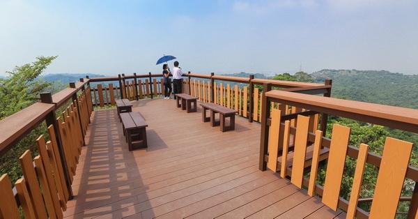 台中霧峰|阿罩霧登山步道觀景平台|尖後福德宮|飽覽360度景觀